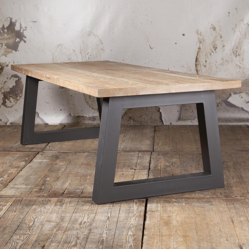 Robuuste industri le eettafel type chval - Eettafel houten ontwerp ...