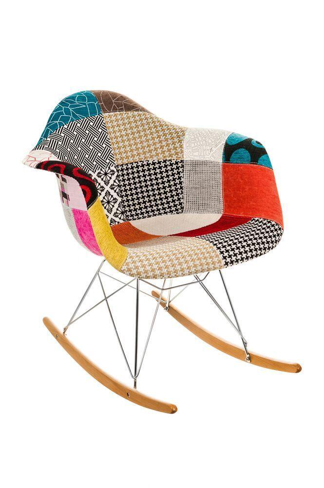 Childrens-Rocking-Patchwork-Chair-Tulip-Tub-Armchair-Seat