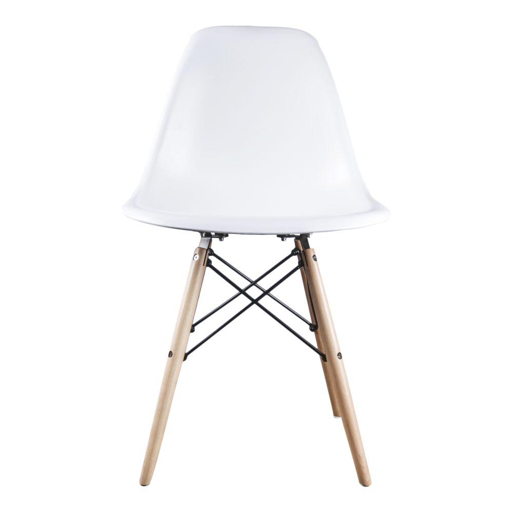 Eetkamerstoelen Designstoel Dsw Plastic Wit.Dsw Style Stoel White