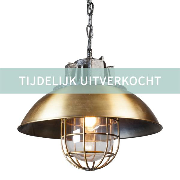 TijdelijkUitverkochtHanglampGoud