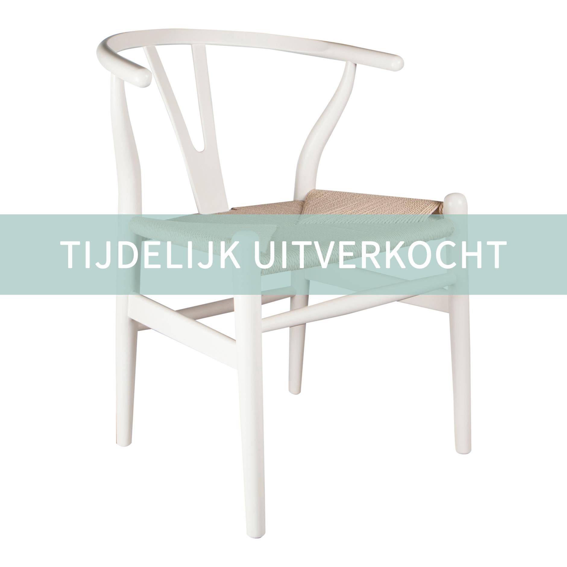 Witte Kunststof Design Stoelen.Eetkamerstoelen Design Stoel Wishbone Y Chair Wit